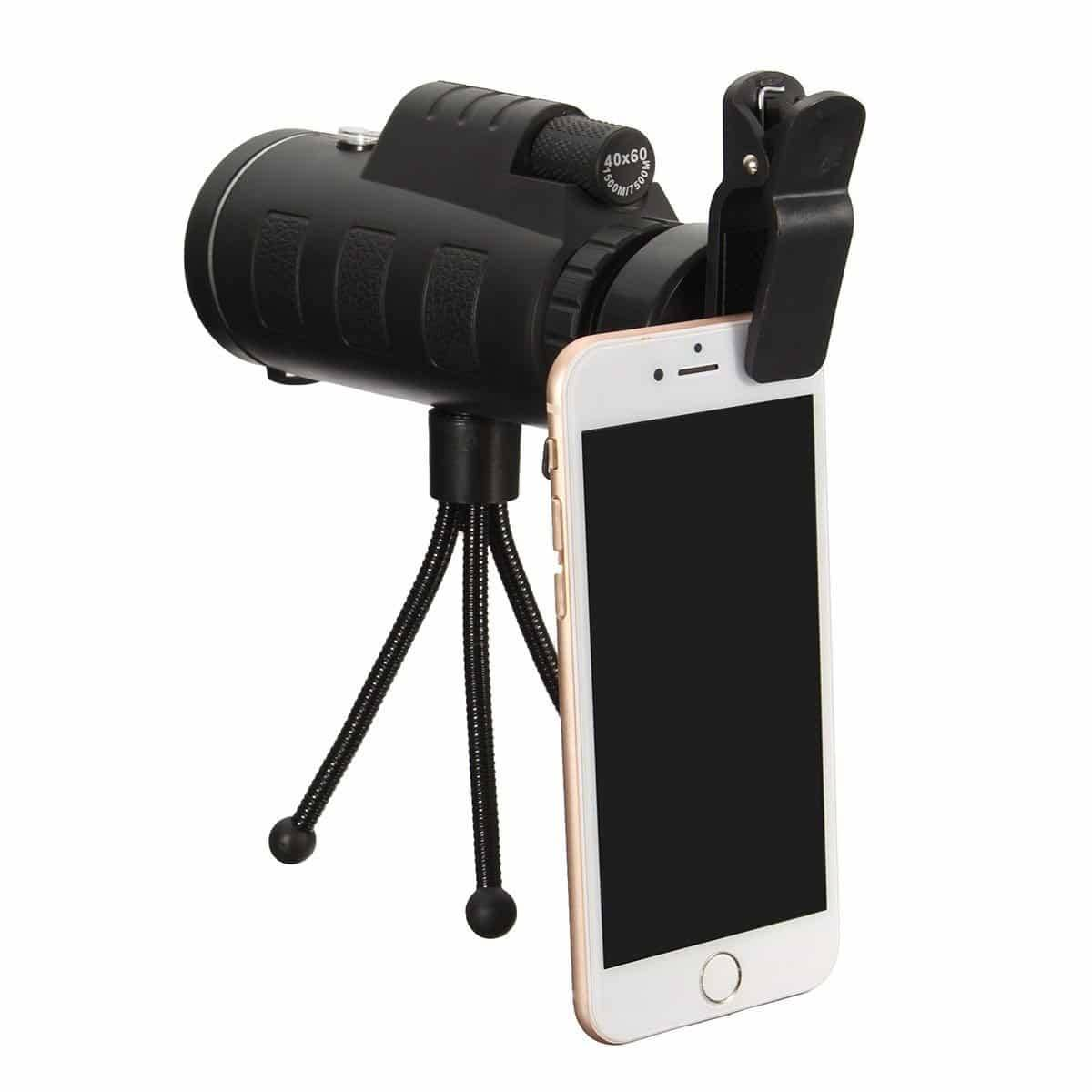 HD Telescope Lens with Tripod Mobile Phone Lenses Mobile Phones & Accessories