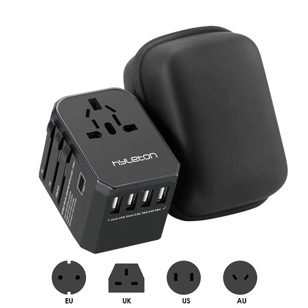 Universal travel 4 USB Power charger adapter adaptor Mobile Phone Chargers Mobile Phones & Accessories