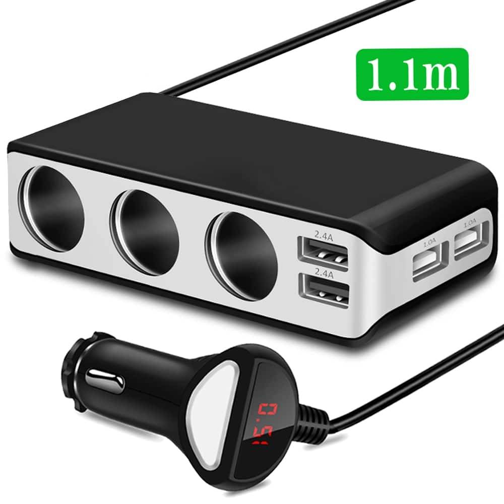 Usb Port Car Charger 6.8A Usb Charger Car Chargers