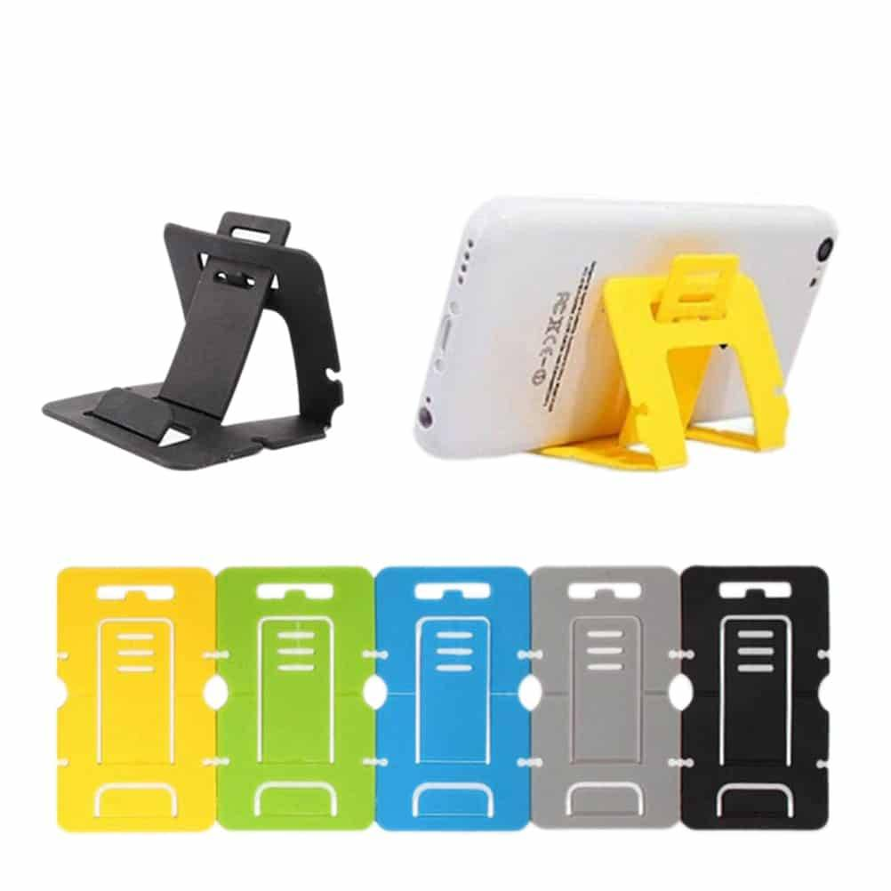 1Pcs Plastic Universal Stand Card Phone Holder Mobile Phone Holders & Stands