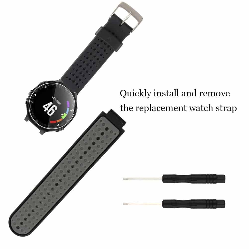 Silicone Replacement Watch Band For Garmin Forerunner 230/235/235Lite/220/620 Smart Accessories