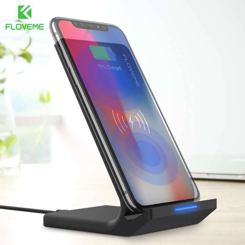 Wireless Phone Charging Dock for iPhone and Samsung Mobile Phone Holders & Stands Mobile Phones & Accessories Wireless Chargers