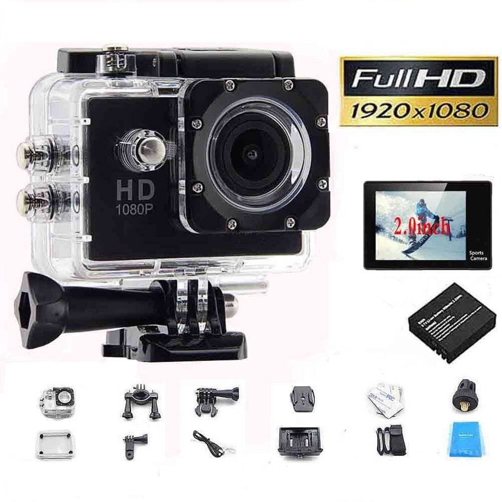 1080P Hd Mini Sport Action Camera Waterproof Sports & Action Video Cameras