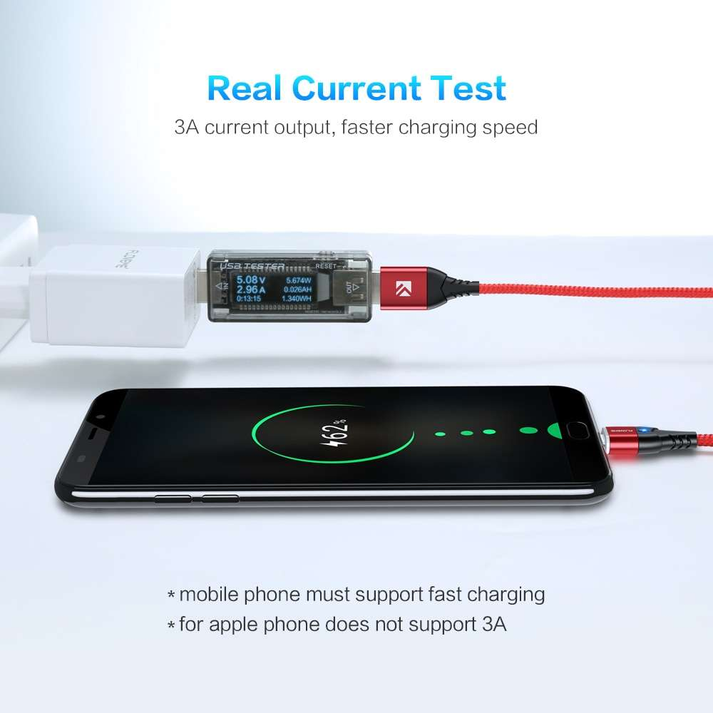 Magnetic Fast Charging Cable For iPhone and Android Samsung Mobile Phone Cables Mobile Phones & Accessories
