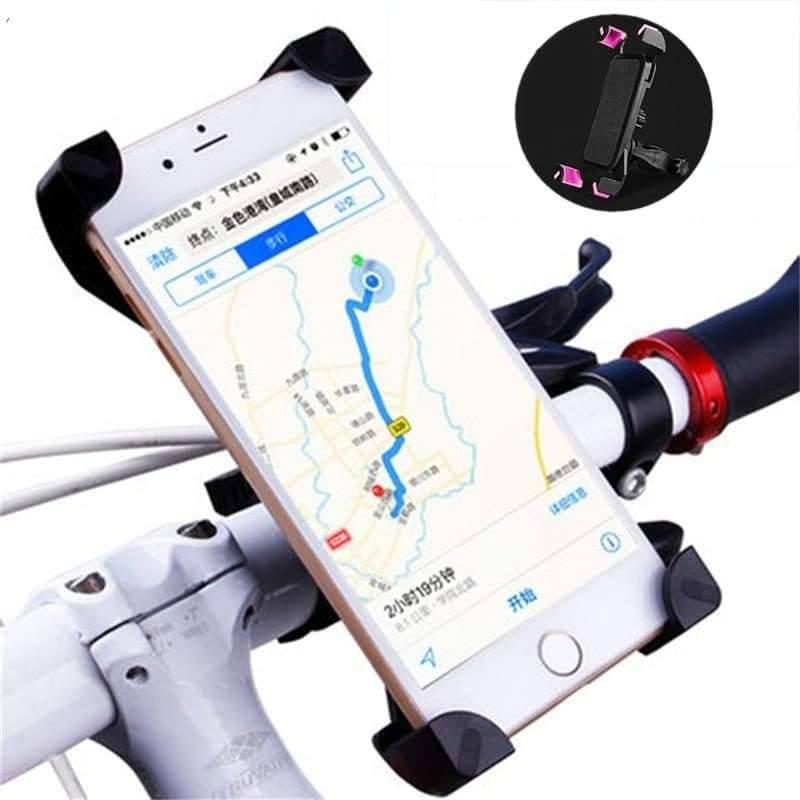 Universal Aluminum Bicycle Phone Holder Mobile Phone Holders & Stands Mobile Phones & Accessories