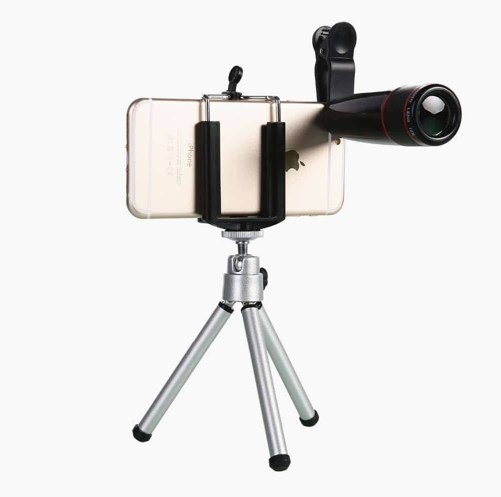 5 Universal in 1 Lenses Kit for Smartphones Mobile Phone Lenses Mobile Phones & Accessories
