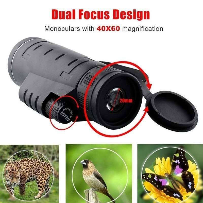 Dual Focus Telescope Lens with Dust Cap Mobile Phone Lenses Mobile Phones & Accessories