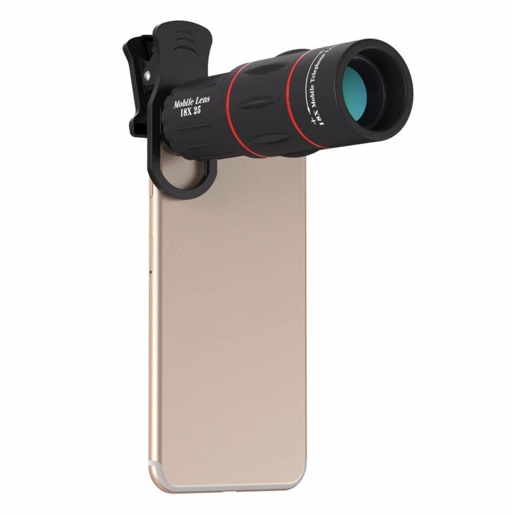 18x Optical Telescope Clip Lens Mobile Phone Lenses Mobile Phones & Accessories