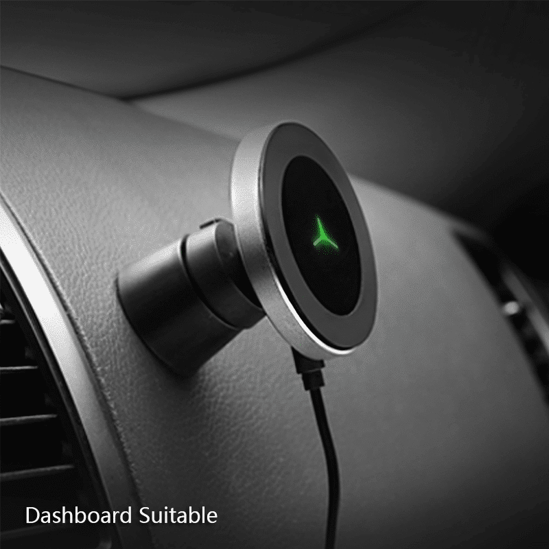 360 Degree Rotation Car Wireless Charger Car Chargers Mobile Phones & Accessories