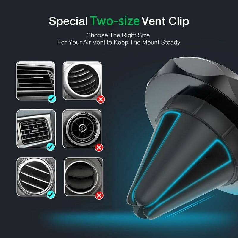 Car Phone Holder Magnetic Air Vent Mount Mobile Phone Holders & Stands