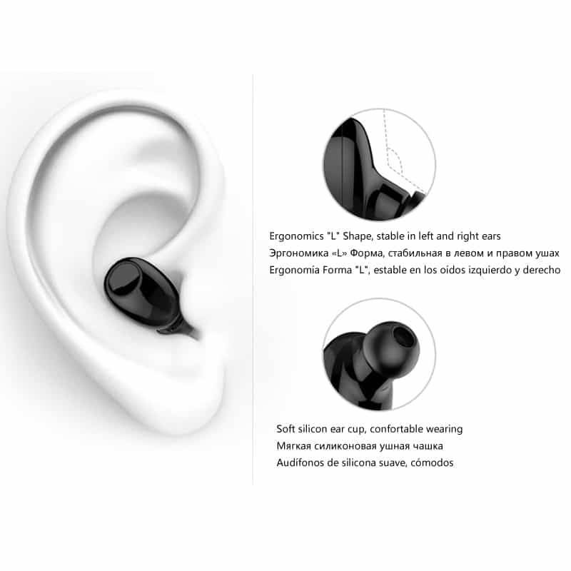10 Hrs Working Mini Bluetooth Hands free Safe Car Driving Audio & Video Wireless Earphones & Headphones