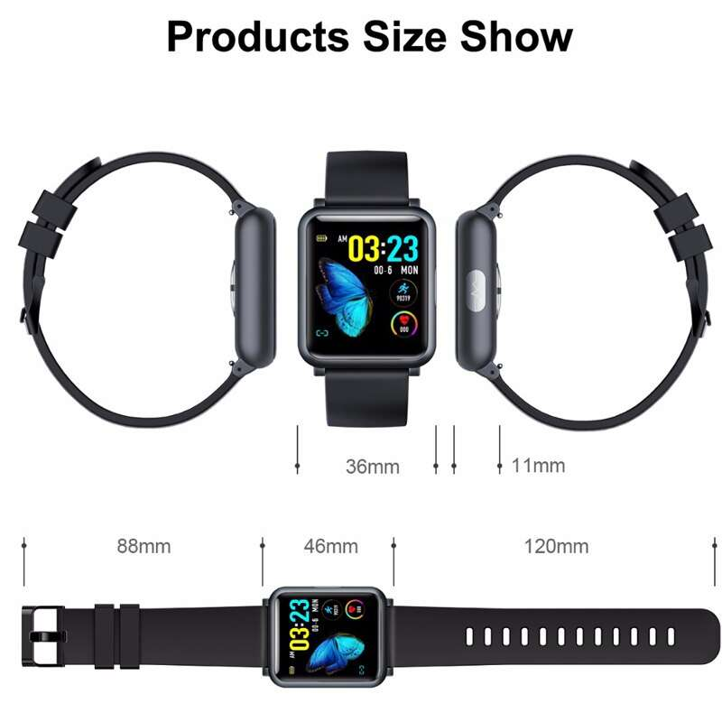 Blood Pressure Smart Band Heart Rate Monitor Smart Activity Trackers