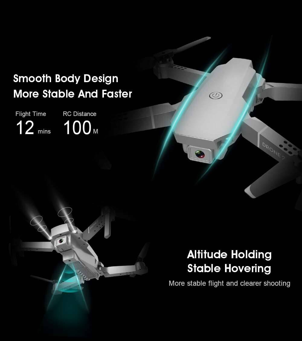 Flight 4K Resolution Radio Control Aerospace Engineering Quadcopter Camera Drone