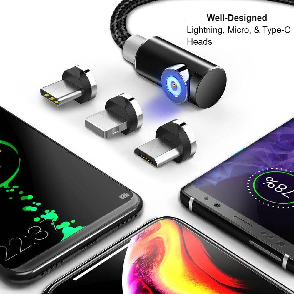 Indestructible Magnetic 3-in-1 Cable Mobile Phone Cables Mobile Phones & Accessories