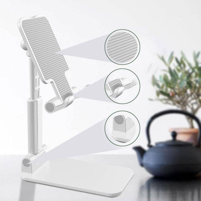 Ergonomically-Adjustable Phone/Tablet Stand Mobile Phone Holders & Stands Mobile Phones & Accessories