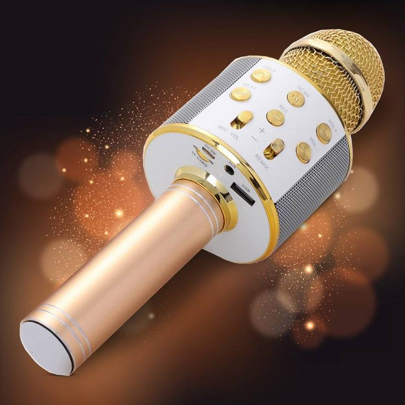 Wireless Karaoke Microphone Audio & Video Microphone