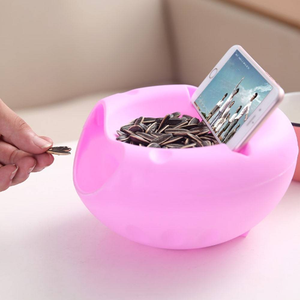 Lazy Snack Bowl Mobile Phone Holders & Stands Mobile Phones & Accessories